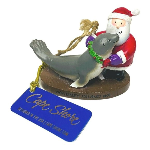 Cape Shore WHIDBEY ISLAND Santa Dolphin Reindeer H